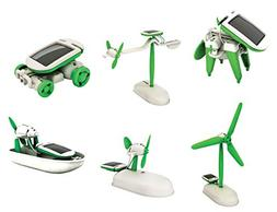 OWI OWI-MSK610 6-in-1 Educational Solar Kit, Includes Airboa