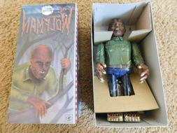 1991 Universal Monsters The WOLF MAN Tin Wind-Up Toy NIB MAD