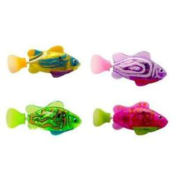 Cat Interactive Swimming Robot Fish with LED Light Water Act