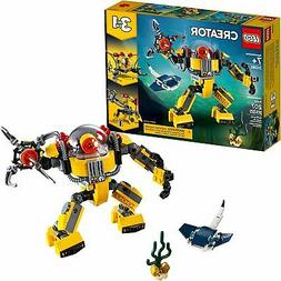 LEGO Creator 3 in 1 Underwater Robot and Manta Ray Building