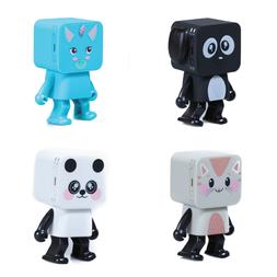 Cute Portable Smart Dancing Robot Music Dog Wireless Bluetoo