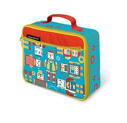 Crocodile Creek Eco Kids Robots Insulated Lunch Box with Han