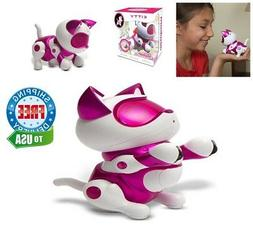 Electronic Robot Smart Cat Toy Interactive Pet for Kids Boy
