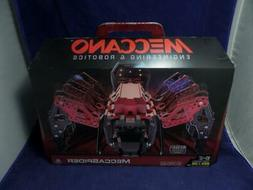 Meccano Erector Mecca Spider Robotic Programmable Toy with B
