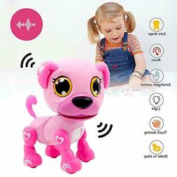 Gifts For 3-8 Year Old Girls Robot Dog Toddler Interactive T