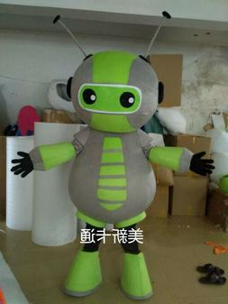 Halloween Adult Robot Mascot Costume Cosplay Party Game Dres