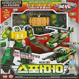 Hello Carbot ARMOR FORCE Army Transformer Robot Tank Helicop
