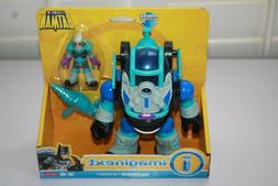 imaginext mr freeze and robot new fisher