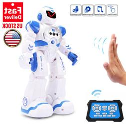 Intelligent Robots for Kids, RC Robot toy Talking Dancing Si