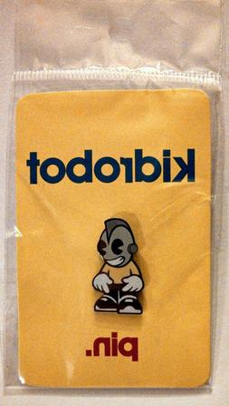 ®KidRobot Yellow Enamel Limited Edition Collector's Pin