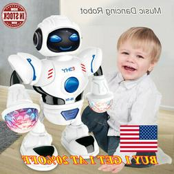 For Kids Baby Dancing Musical Robot Toy Boys Rotating Smart
