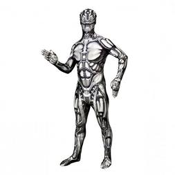Kids to Adult Android Morphsuit Monster Robot Costume Cospla