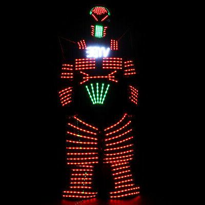 4 LED Costume Robots Clothes with Laser Remote