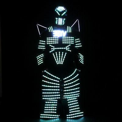 4 Colors Robots Illuminated with Laser