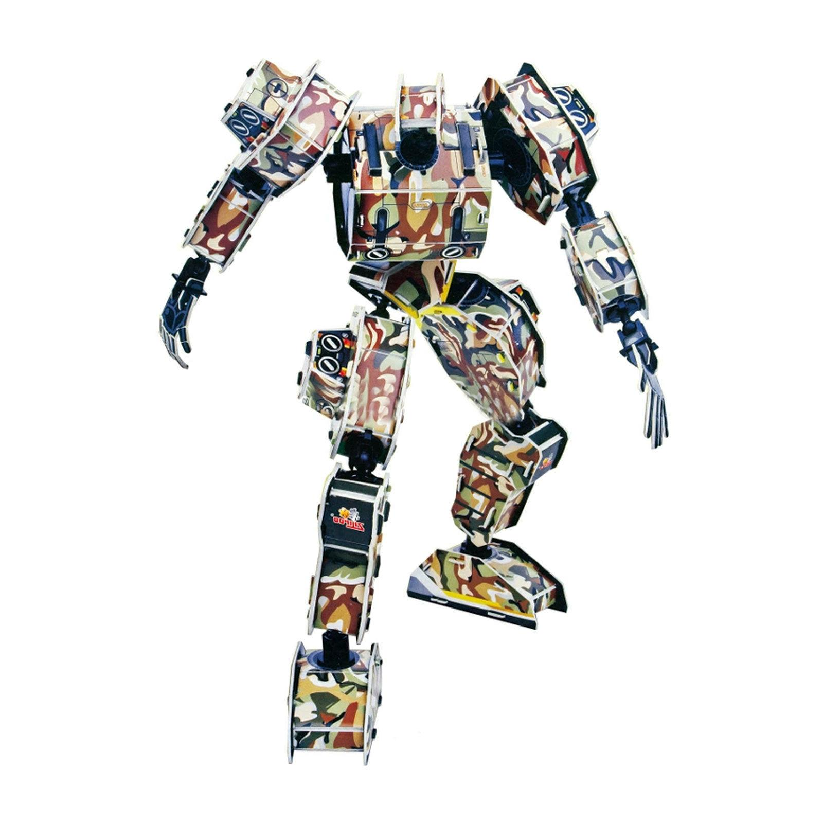army robot building toy 59 piece 3d