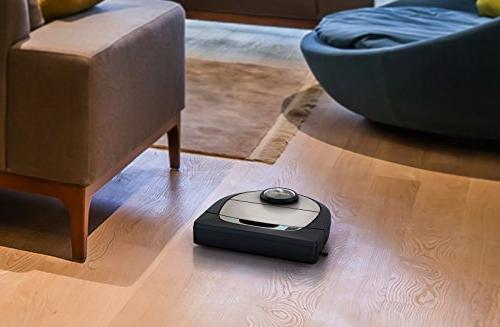 Neato Robotics Laser Guided Robot Featuring Mapping Works Amazon Silver/Black