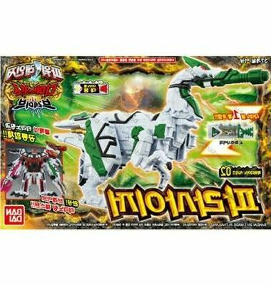 dino force brave parasaizer action robot toy
