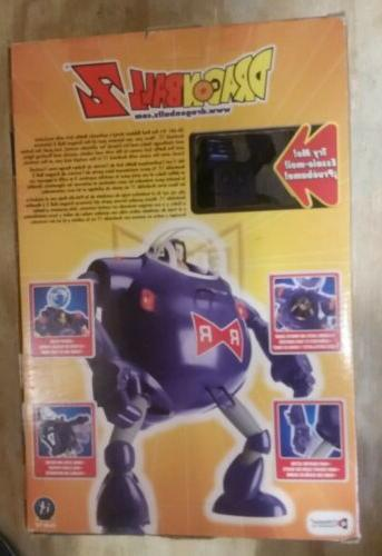 Irwin Android 17 Battle Suit Red 11 inch Robot 2002