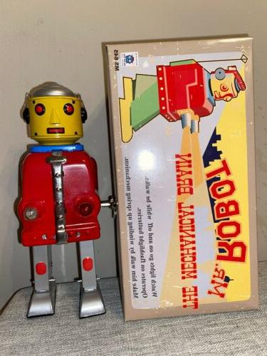 ms645 red mr robot the mechanical brain