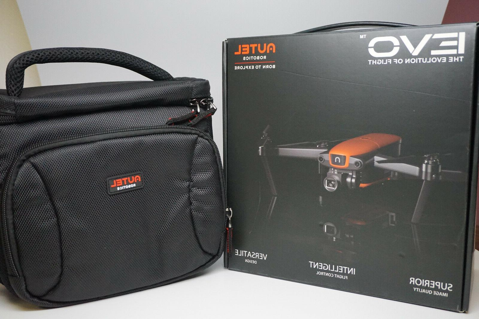 new evo drone with autel carrying case
