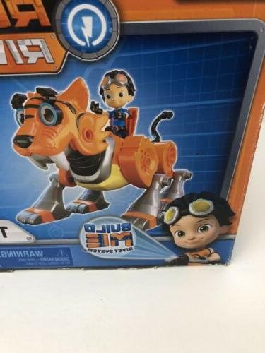 Nickelodeon Rusty Tigerbot Building Lights and