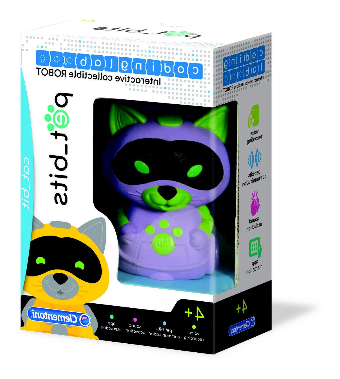pet bits robot cat learn early coding