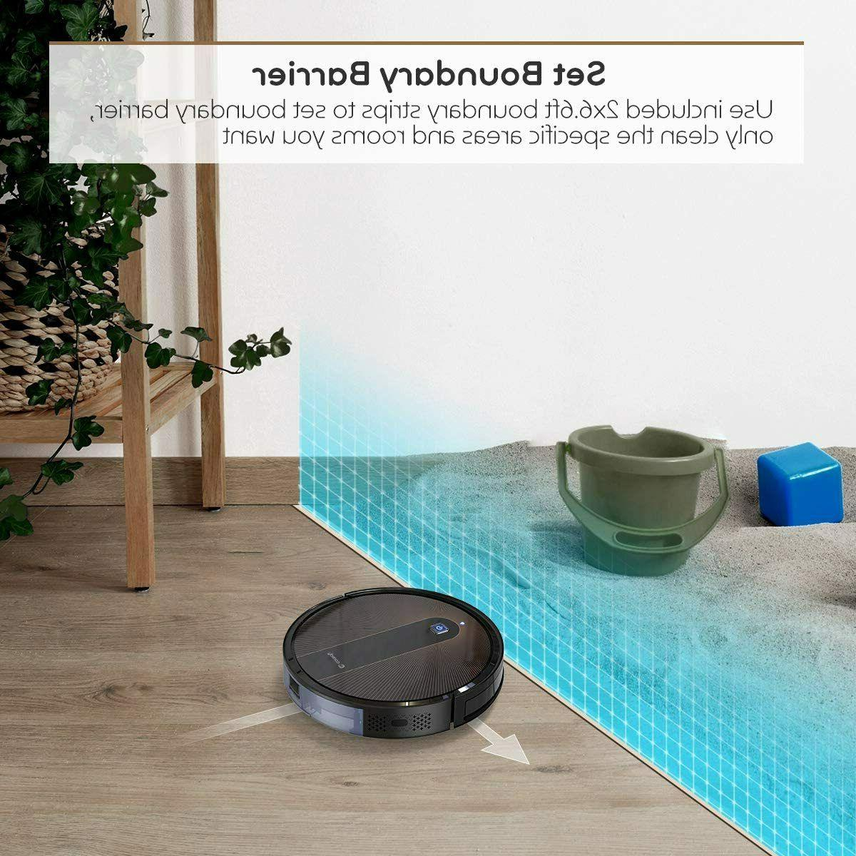 Coredy Robot Vacuum Cleaner, Compatible Mopping System,