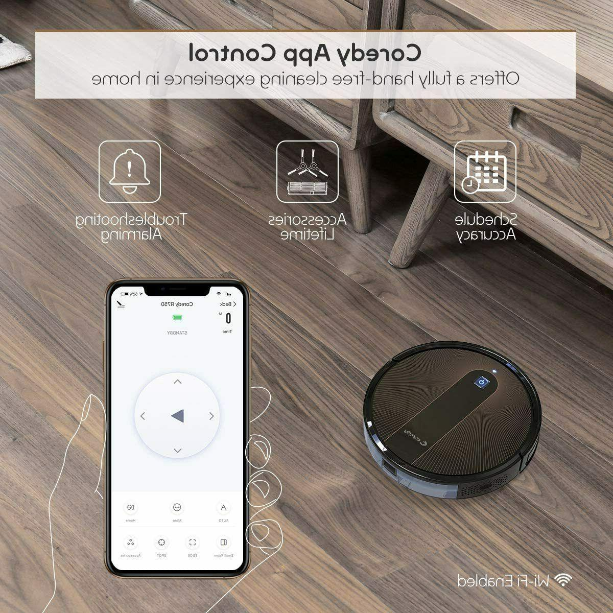 Coredy Robot Cleaner, with Mopping Boost
