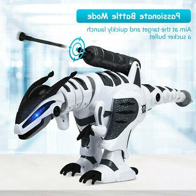 RC Robot Interactive Remote Control Roars Fight Mode