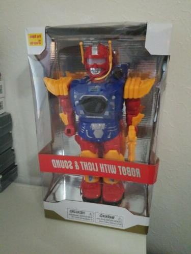 robot toy with lights and sound 13