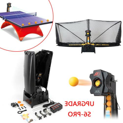 s6 pro automatic table tennis robot ping