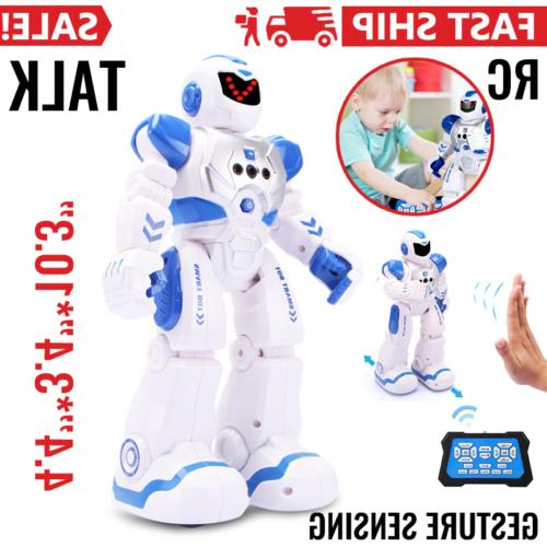 smart rc robot toy programmable intelligent christmas