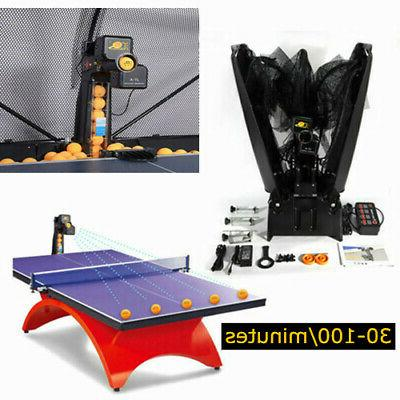 table tennis robot training automatic ping pong