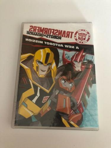 TRANSFORMERS - Robots in Disguise: A New AutoBot Mission DVD