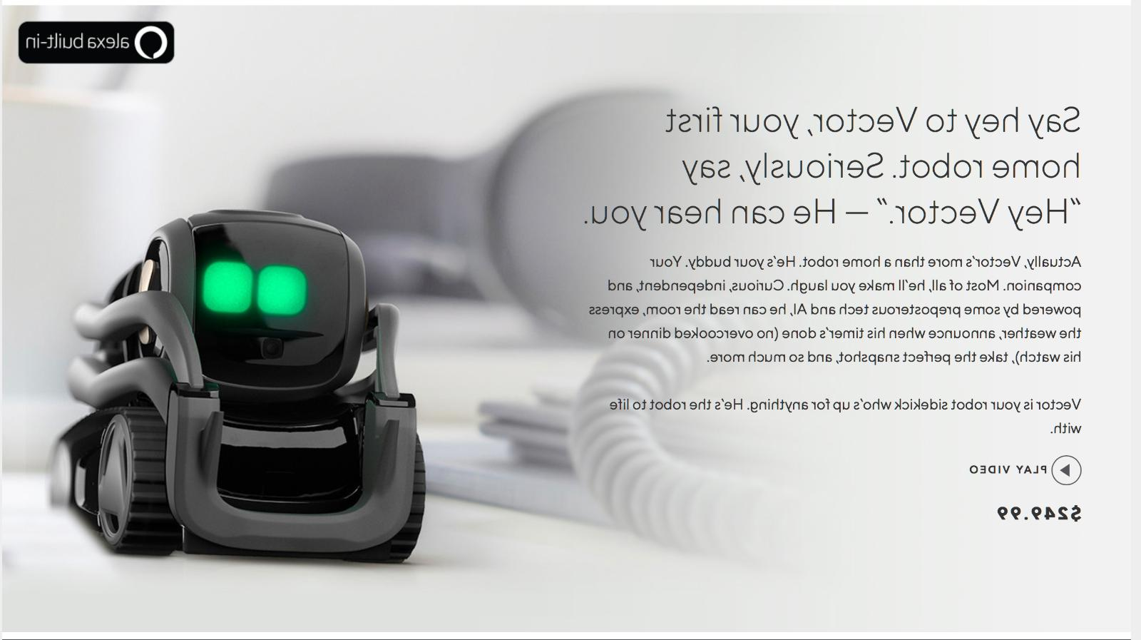 Anki Robot Toy Robot With Built In