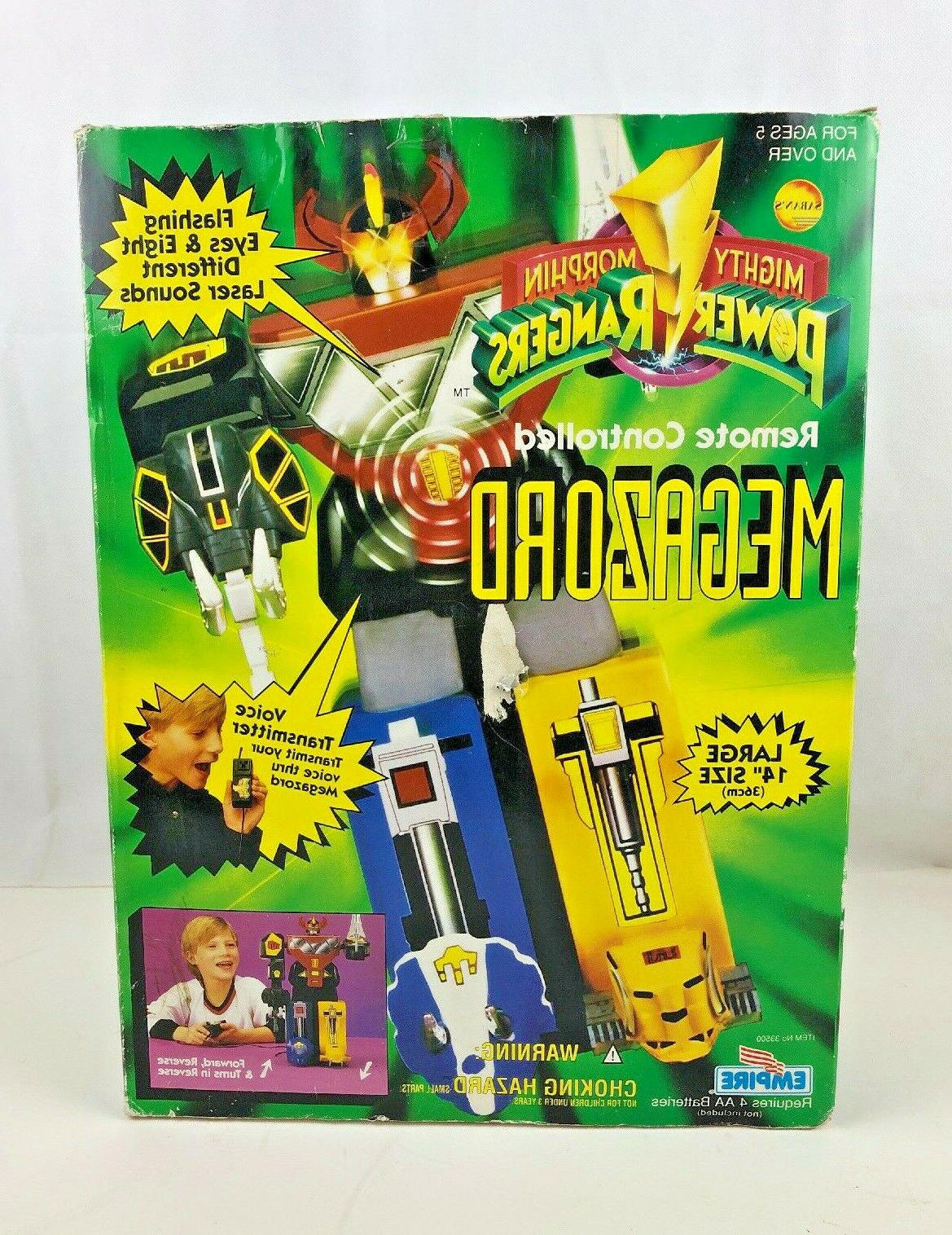 Vtg 90's Mighty Power Remote Controlled Toy