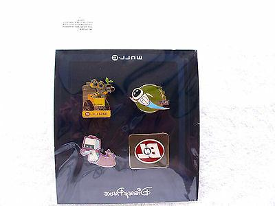 wall e 4 pins new in pack