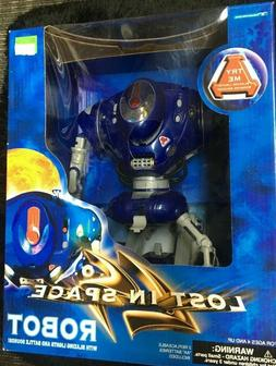 lost in space robot with blazing lights