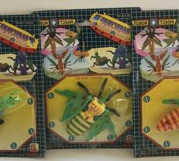 Lot of 12 Vintage Transformer Fight 80's Insect Robot Toy Se
