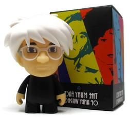 Kidrobot MANY FACES OF ANDY WARHOL Mini Series FRIGHT WIG 80