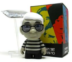 Kidrobot MANY FACES OF ANDY WARHOL Mini Series SILVER FACTOR