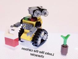 MOC Mini Size Wall-E Robot Custom Build from Lego New Pieces