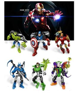 New Transformers Avengers Action Figures Iron Thor Hulk Toys