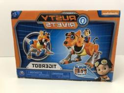 Nickelodeon Rusty Rivets Tigerbot Building Set with Lights a
