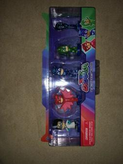 PJ Masks Collectible Figure Set Owlette Gekko Romeo Catboy &