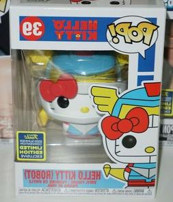 Funko Pop Hello Kitty Robot #39 SDCC Shared Exclusive New