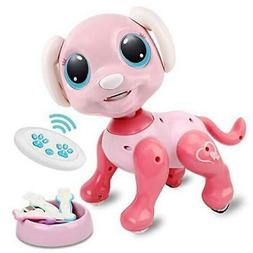 Remote Control Robot Dog Toy, RC Interactive Intelligent Wal