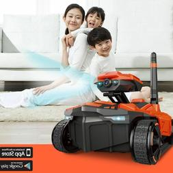Remote Control Tank with HD Camera RC Toy Phone Controlled R