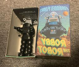 """Robby The Robot 1997 Wind Up Toy 4.5"""" Made in Japan New"""