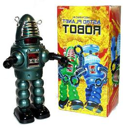 Robby the Robot Tin Toy Windup Astro Planet Edtion Limited E
